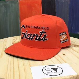 San Francisco Giants Nike Strap Back Hat x Cap